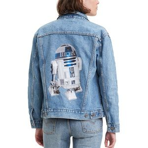 Levi's Star Wars R2D2 Ex Boyfriend Trucker Jacket